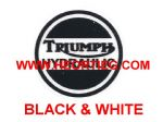 Triumph Hydraulic Transfer Black & White